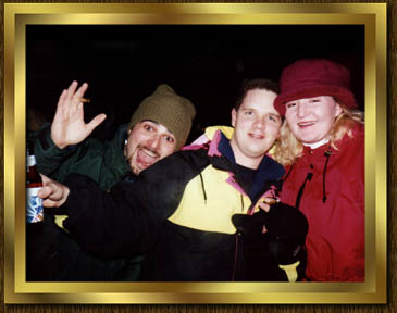 Me, Darryl and Denise New Years 98'
